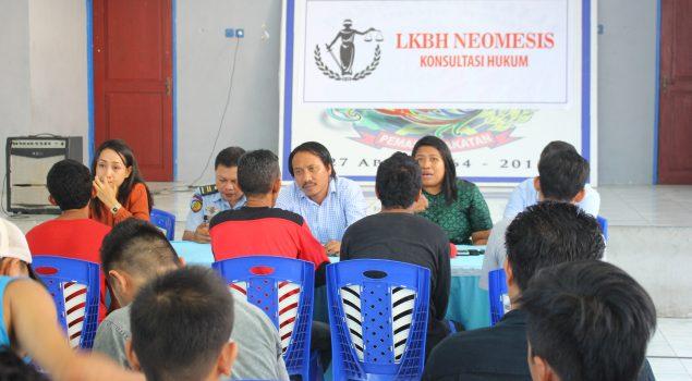 Pendampingan Hukum Bantu WBP Kurang Mampu di Rutan Manado