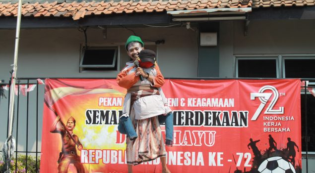 Stand Up Comedy Hibur Rutan Rangkasbitung