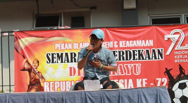 Lomba Puisi WBP Getarkan Rutan Rangkasbitung