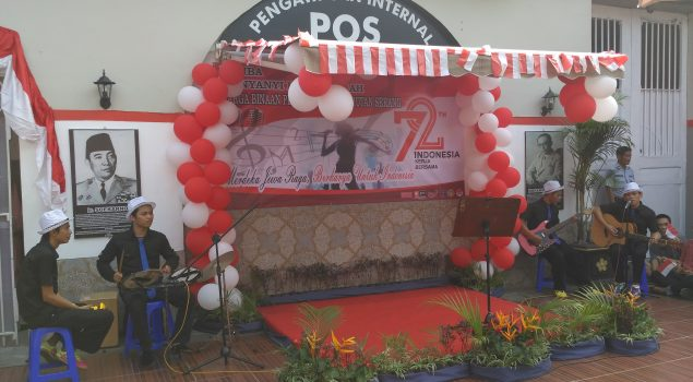 Lomba Lagu Daerah, WBP Rutan Serang Joget Sajojo