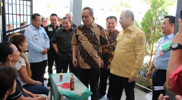 """WBP Perempuan di Rutan Manado """"Curhat"""" ke Anggota Komisi III DPR"""