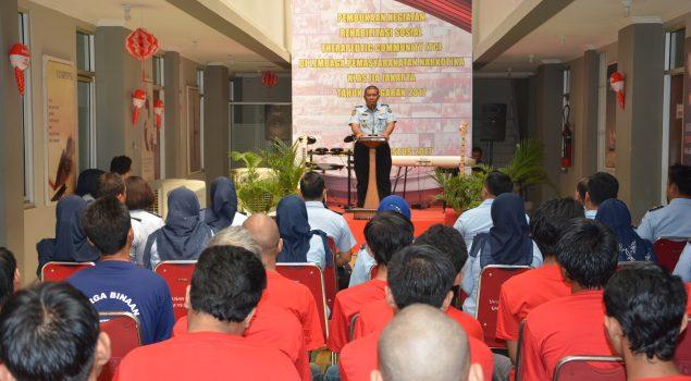 """Buka Program TC, Lapas Narkotika Jakarta Juga Resmikan Perpustakaan """"Sumber Cahaya"""""""