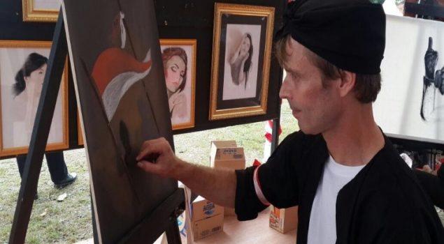WBP Asal Jerman Pamer Lukisan Kemerdekaan Indonesia