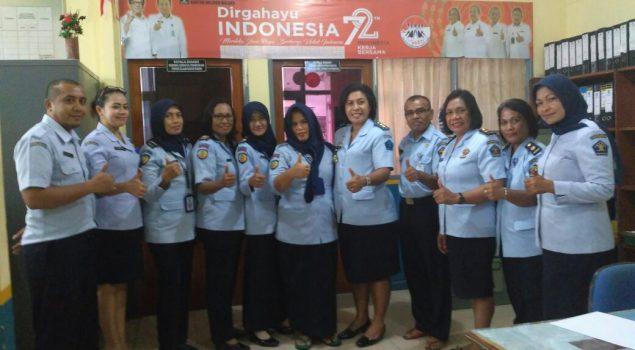 In House Training Tingkatkan SDM Lapas Perempuan Ambon