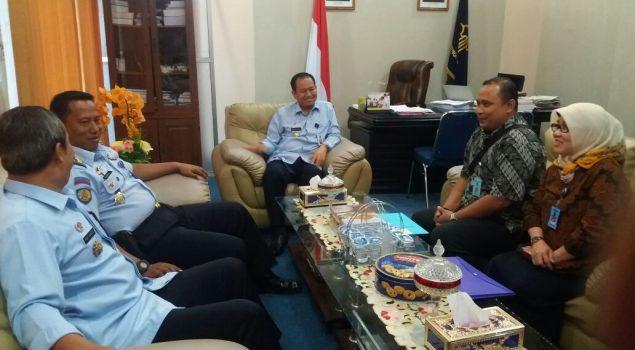 Kakanwil Maluku Terima Tim Monev Ditjen PAS