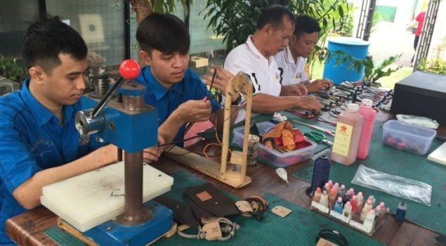 Jeera Foundation Fasilitasi Kreativitas WBP Rutan Cipinang