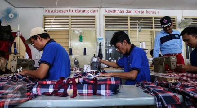 Lapas Tangerang Kembangkan Industri Garmen Produksi WBP