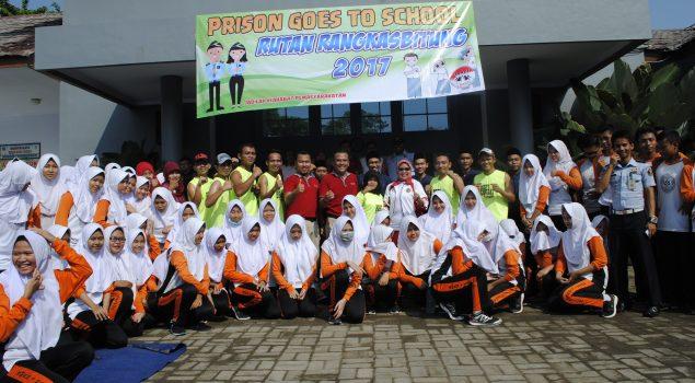 Prison Goes to School Sambangi SMAN 1 Rangkasbitung