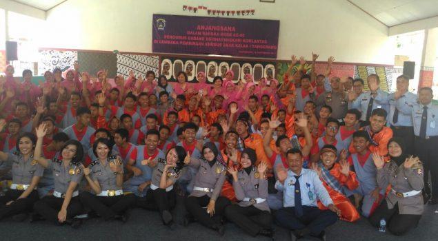 Penampilan Anak LPKA Tangerang Meriahkan HKGB ke-65