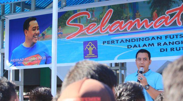Rutan Manado Kembali Gelar Lomba Futsal
