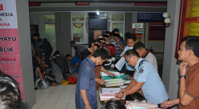 Lapas Narkotika Jakarta Pindahkan 100 WBP ke Lapas Pekalongan