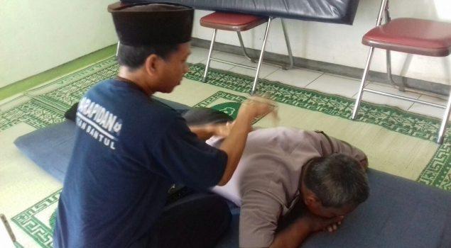 Anggota Satbinmas Bantul Puji Terapi Doa Rutan Bantul