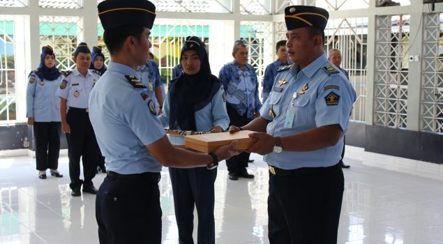 Febie Dwi Hartanto Resmi Pimpin Rutan Balikpapan