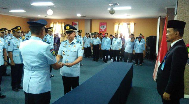 Aliandra Harahap Lanjutkan Estafet Kepemimpinan di Rutan Rangkasbitung