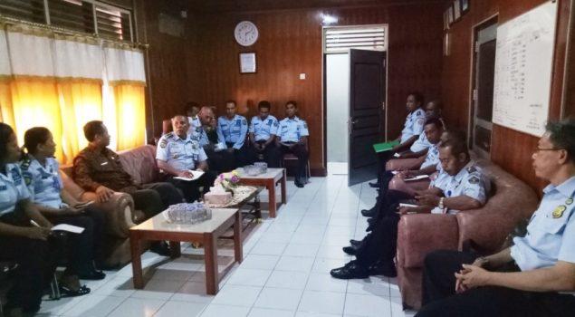 Kakanwil Maluku: Pelayanan Pemasyarakatan Harus Taat Aturan