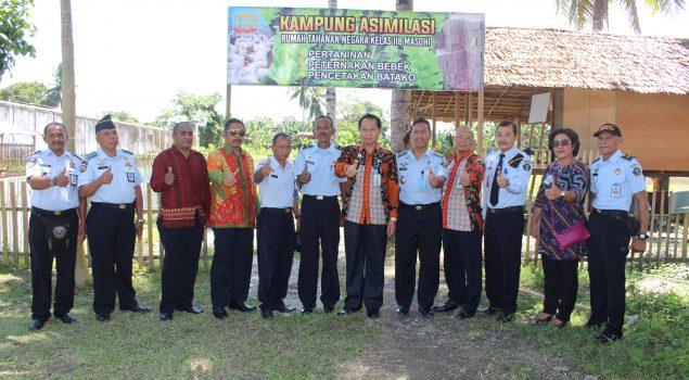 Kampung Asimilasi Berdayakan WBP Rutan Masohi