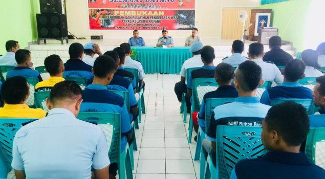 Pelatihan Pengelasan Listrik Tingkatkan Kualitas WBP Lapas Kupang