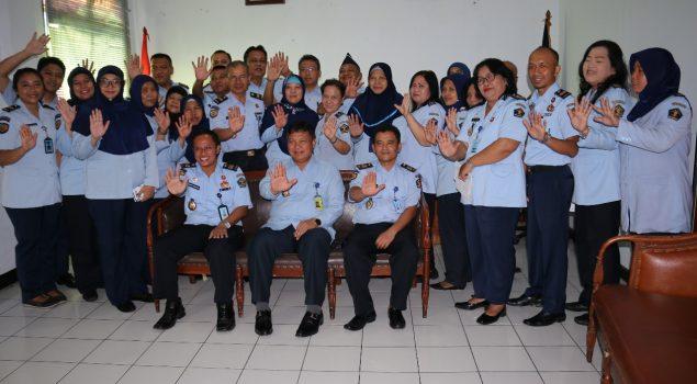Datangi Bapas Jakbar, Ini Pesan Kakanwil DKI Jakarta