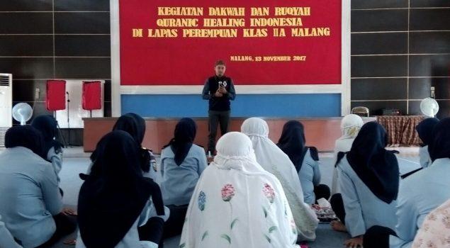 Perkenalkan Konsep Syar'i, Ruqyah di LPP Malang Sasar Petugas & WBP