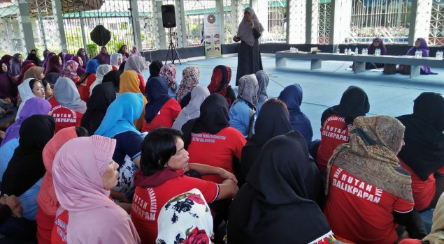 WBP Perempuan di Rutan Balikpapan Ikuti Taklim Qiroaty Istiqomah