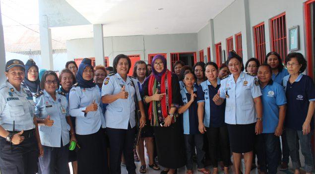 Sesditjen PAS Memotivasi WBP Lapas Perempuan Ambon