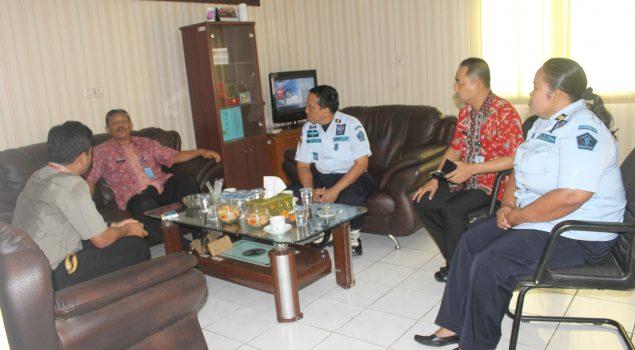 BPK Tinjau Gudang Penyimpanan Rupbasan Jakbar & Tangerang