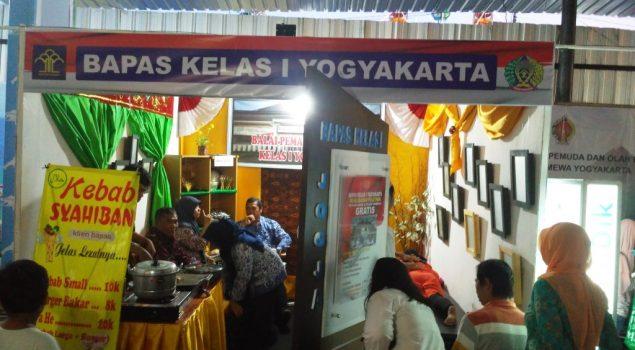 Bapas Yogya Pamerkan Karya Klien pada Pasar Malam Perayaan Sekaten 2017