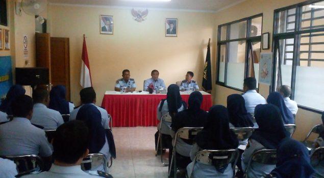 Kadiv PAS DKI Jakarta Diskusikan Masalah Kebapasan di Bapas Jaksel