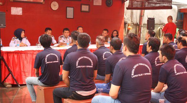Asimilasi WBP Lapas Cipinang Libatkan Yayasan Dharma Duta Bodhinyana Yen Indonesia