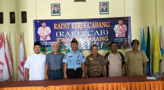 Daftarkan Gudep Khusus Pramuka, Kalapas Gunung Sugih Sambangi Kwarcab Lampung Tengah