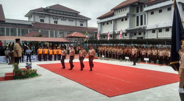 Pramuka Narapidana se-Riau Didaulat Jadi Kader Disiplin