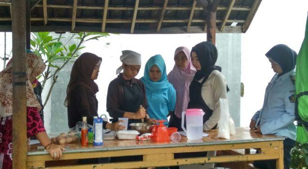 Kelas Tata Boga Rutan Rangkasbitung Rancang Kafe Asimilasi