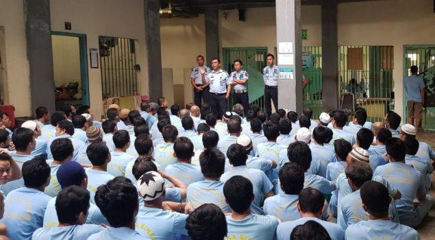 Sinergitas Petugas Rutan Batam & Warga Binaan Dalam Suasana Kekeluargaan
