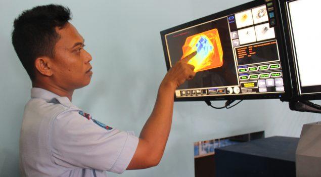 Lapas Pekanbaru Berlakukan Screening 3D System bagi Pengunjung