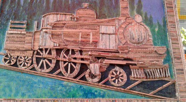 WBP Rutan Garut Ciptakan Lukisan Bernilai Estetik