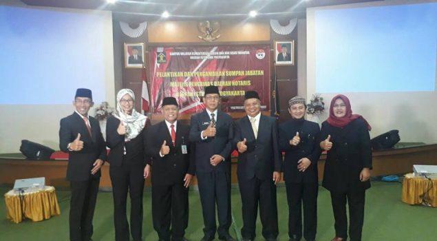 Karutan Wates Dilantik Sebagai Sekretaris MPD Notaris Kulon Progo