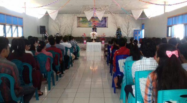 Bersama GKPMI, Lapas Ternate Gelar Ibadah Pra-Natal