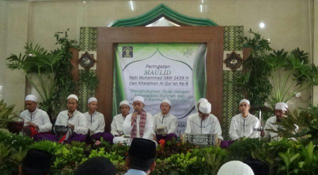 Khataman Al Quran Isi Peringatan Maulid Nabi di Rutan Jakpus
