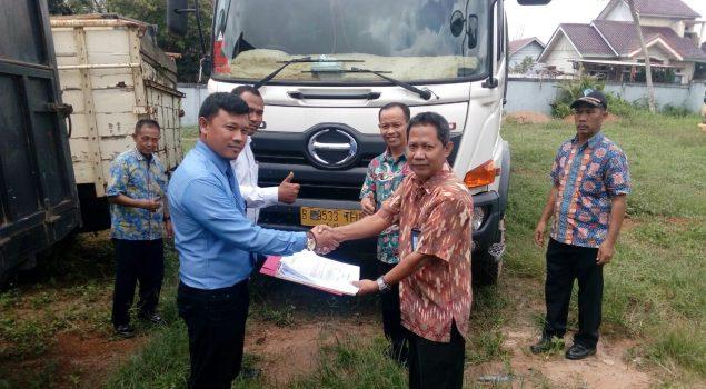 Rupbasan Palembang Terima Truk Tronton Titipan Polda Sumsel