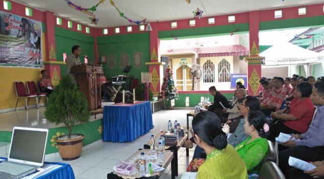 Sukacita & Damai Perayaan Natal 2017 di Rutan Pekanbaru