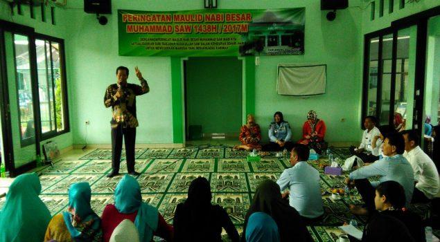 Maulid Nabi di Lapas Perempuan Tangerang Hadirkan Anton Medan