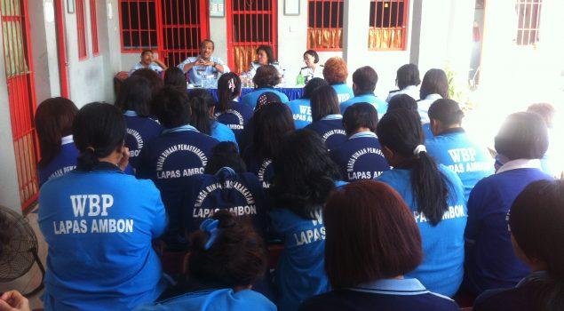 Kadiv PAS Maluku Sosialisasikan BPU di Lapas Perempuan Ambon
