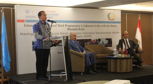 Tingkatkan Lapas Industri, Lapas Seluruh Indonesia Terapkan The Mandela Rules