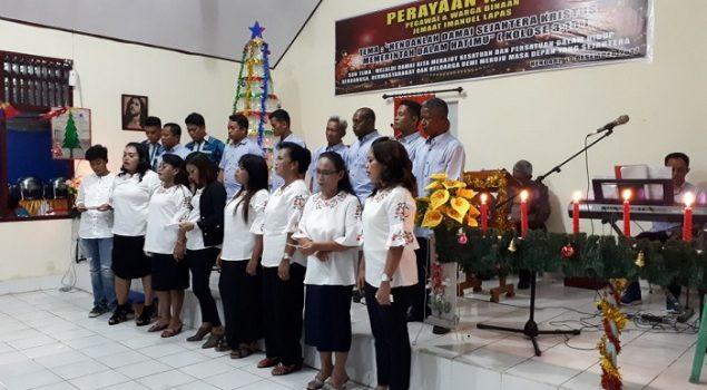 3 Lapas di Kendari Gelar Ibadah Natal Bersama