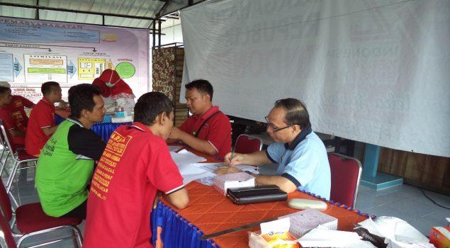 Pemeriksaan VCT & IMS Tahap II di Lapas Narkotika Lubuklinggau Pantau Kesehatan WBP