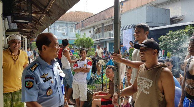 Cegah Gangguan Kamtib, Kalapas Bogor Kontrol Blok WBP