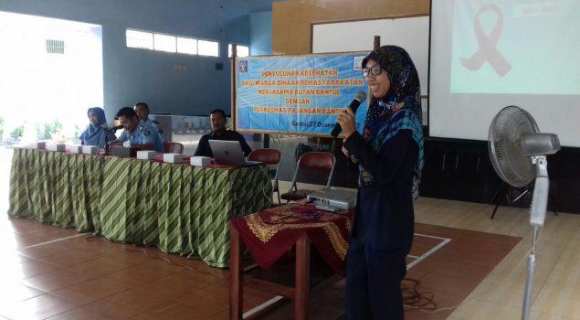 Bersama Puskesmas Pajangan, Rutan Bantul Fasilitasi Penyuluhan HIV/AIDS