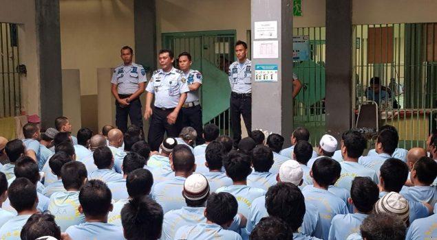 Kurangi Over Kapasitas, 64 Narapidana Rutan Batam Mendapatkan Remisi Natal 2017