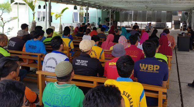 Rutan Lampung Ajak Keluarga Pantau sidang TPP Narapidana