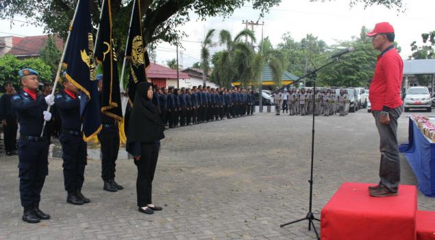 Kakanwil Riau Minta CPNS Tunaikan Janji Tunas Pengayoman